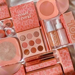 🧡ColourPop Cosmetics Coast To Coral Makeup Set🧡